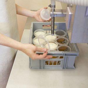 .... Dessertjoghurt krönt.