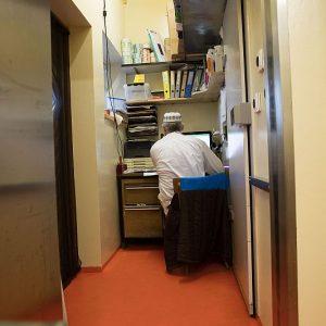 Das Käserei-Büro, in dem die Bestellungen ankommen