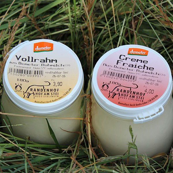 Vollrahm, Crème Fraîch