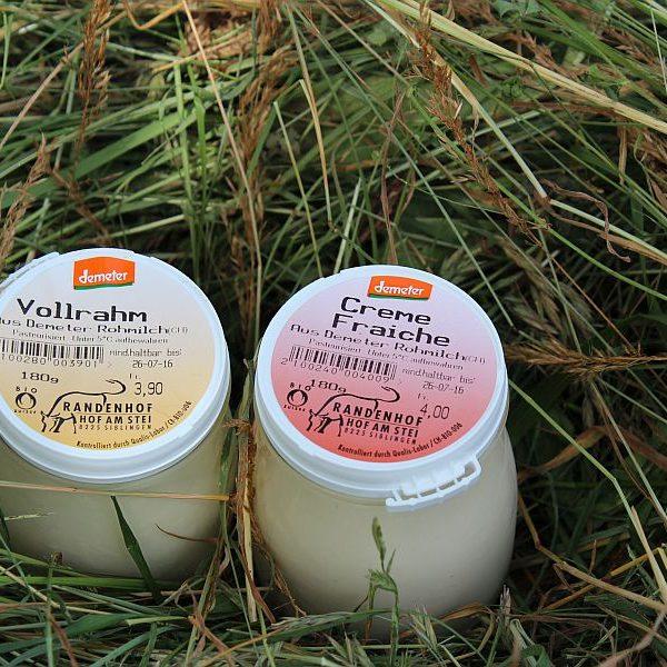 Vollrahm, Crème Fraîche