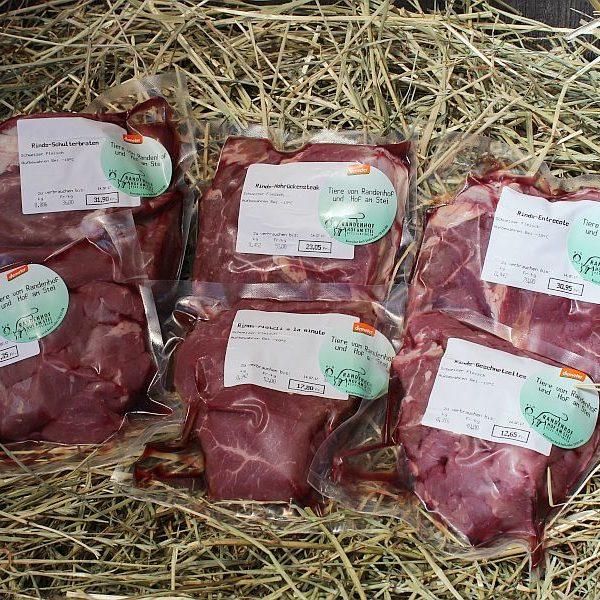 Rind- und Schweinfleisch