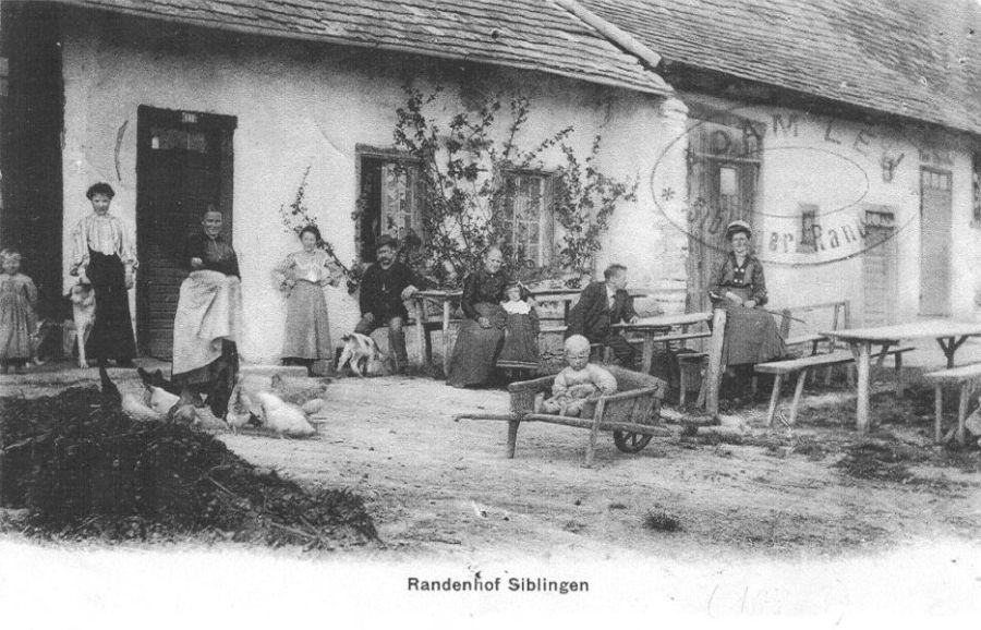 Randenhof um 1900