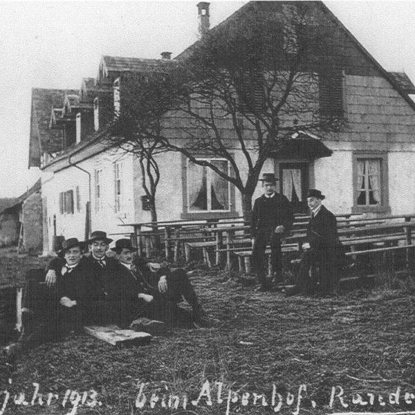 Randenhof Neujahr 1913