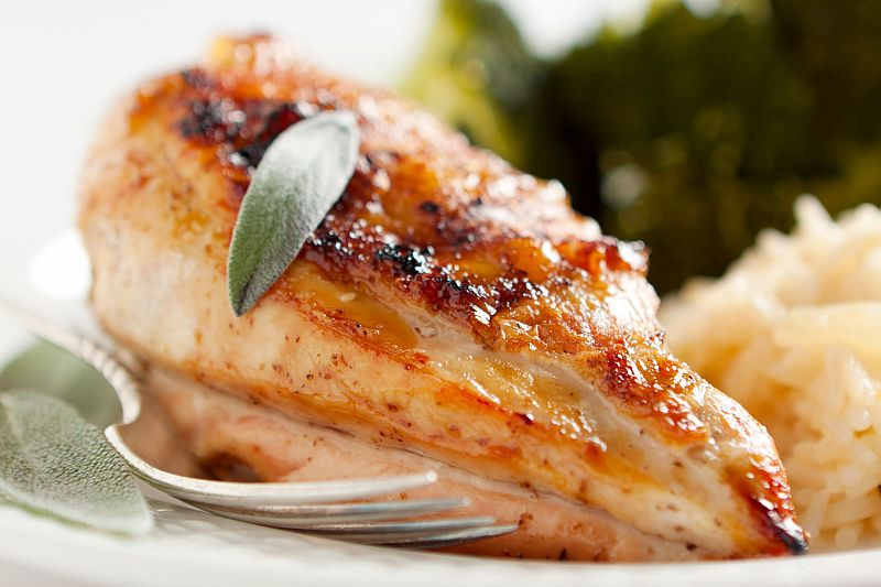 Hähnchenbrust gebacken